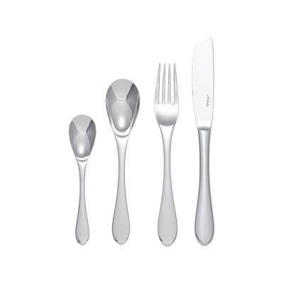 Noritake Monterosso 24 Piece Stainless Steel Cutlery Set