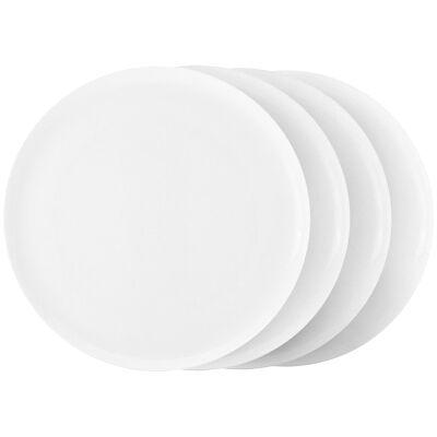 Marc Newson by Noritake Set of 4 Fine Bone China Dinner Plates