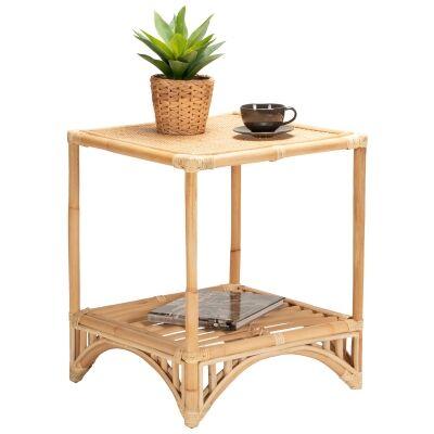 Livingston Rattan Side Table