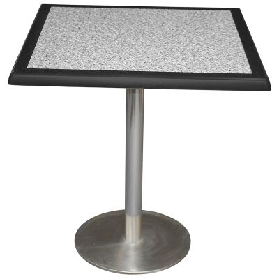 Caltana Commercial Grade Square Dining Table, 60cm, Pebble