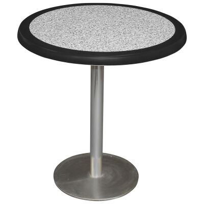 Caltana Commercial Grade Round Dining Table, 70cm, Pebble