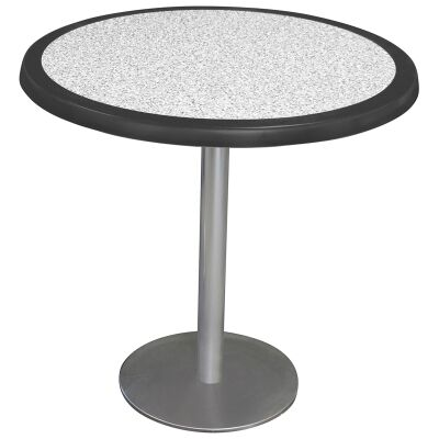 Caltana Commercial Grade Round Dining Table, 80cm, Pebble