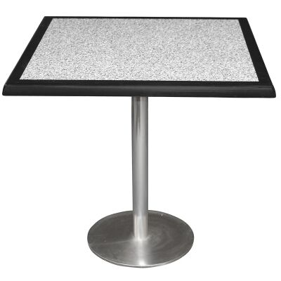 Caltana Commercial Grade Square Dining Table, 80cm, Pebble