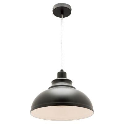 Risto Metal Pendant Light, Black