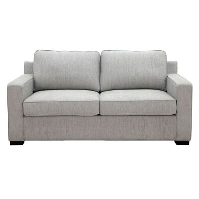 Sancrox Fabric Pull Out Sofa Bed, 2.5 Seater, Oyster