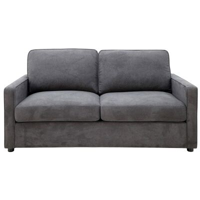 Laurieton Fabric Pull Out Sofa Bed, 2.5 Seater, Licorice