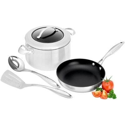 Scanpan CTX Commercial Grade 4 Piece Starter Set