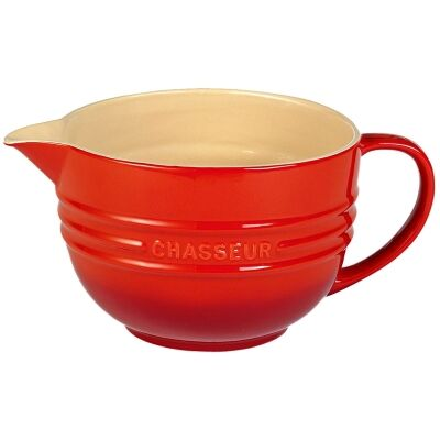 Chasseur La Cuisson Mixing Jug, Red