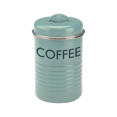 Typhoon Vintage Kitchen Coffee Canister - Blue