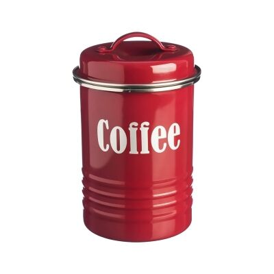 Typhoon Vintage Kitchen Coffee Canister - Red