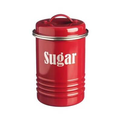 Typhoon Vintage Kitchen Sugar Canister - Red