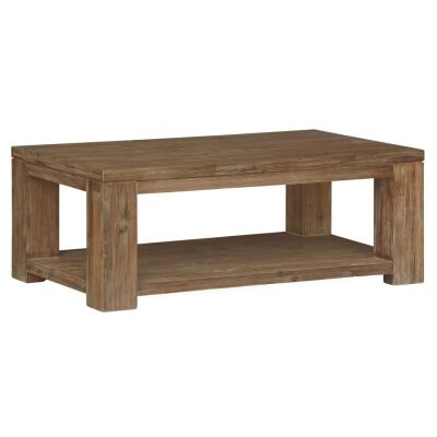 Ashton Solid Acacia Timber 120cm Coffee Table