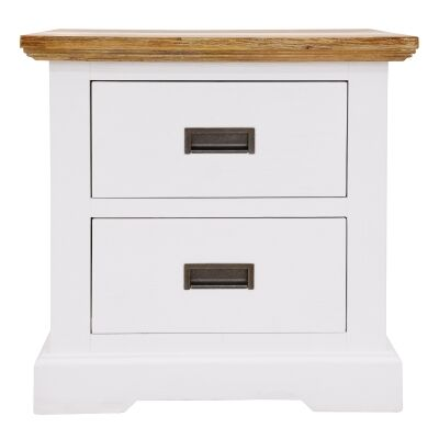 Largo Acacia Timber Bedside Table