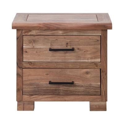 Antares Acacia Timber Bedside Table