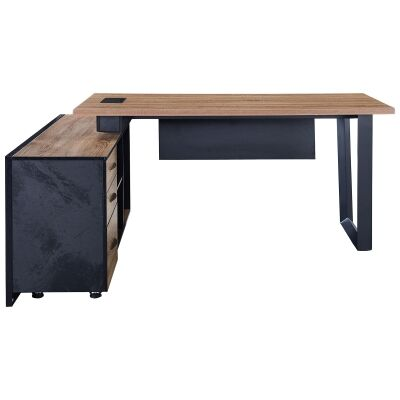 Adriano Executive Office Desk, Left Return, 180cm