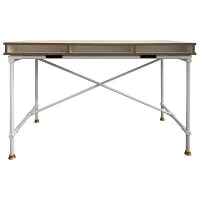 Parker Study Desk, 120cm, White