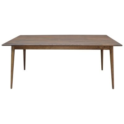 Stuart Solid Mango Wood Timber 180cm Dining Table