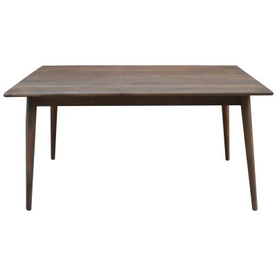 Stuart Solid Mango Wood Timber 150cm Dining Table