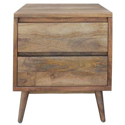 Elvina Mango Wood Bedside Table