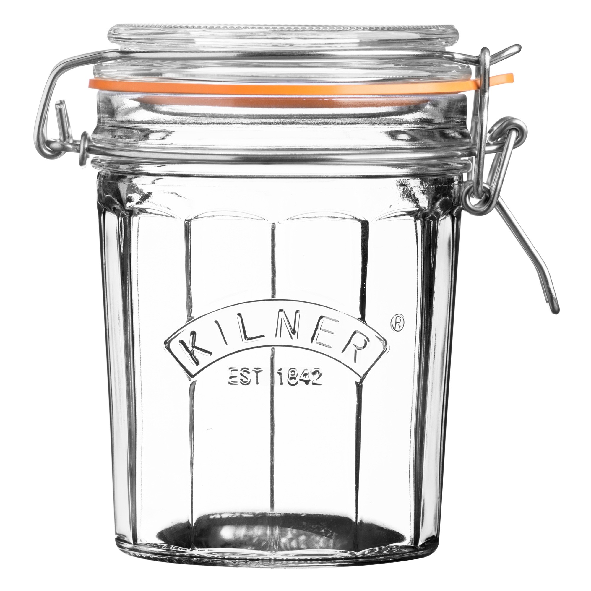 Kilner Facetted Clip Top Jar - 450ml