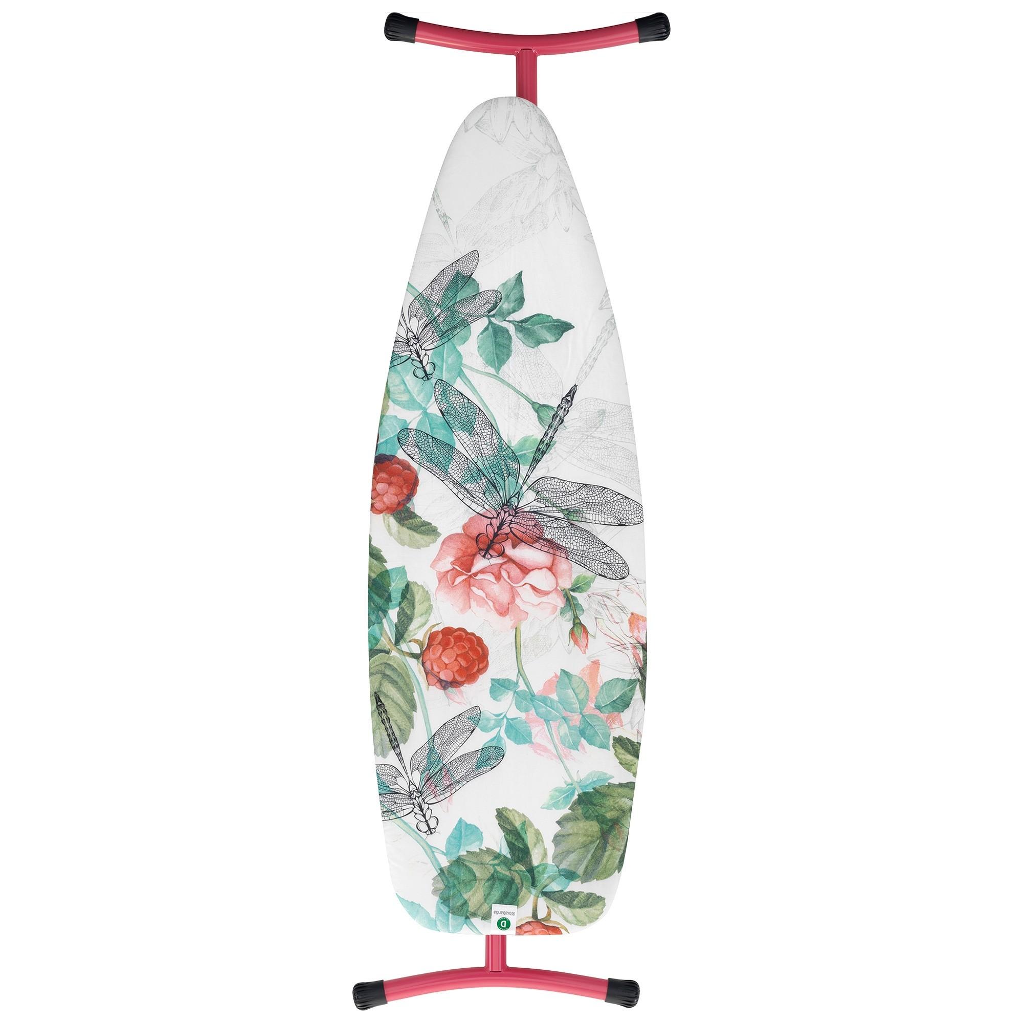 Brabantia Raspberry Ironing Board, 135x45cm