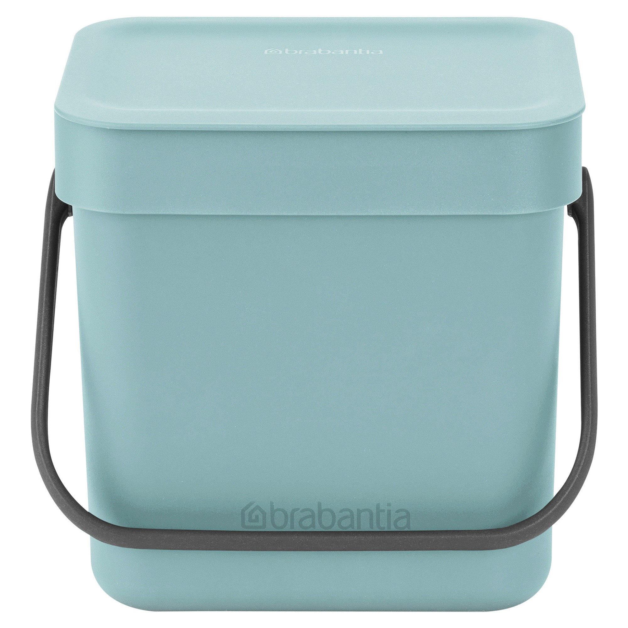 Brabantia Sort & Go Waste Bin, 3 Litre, Mint