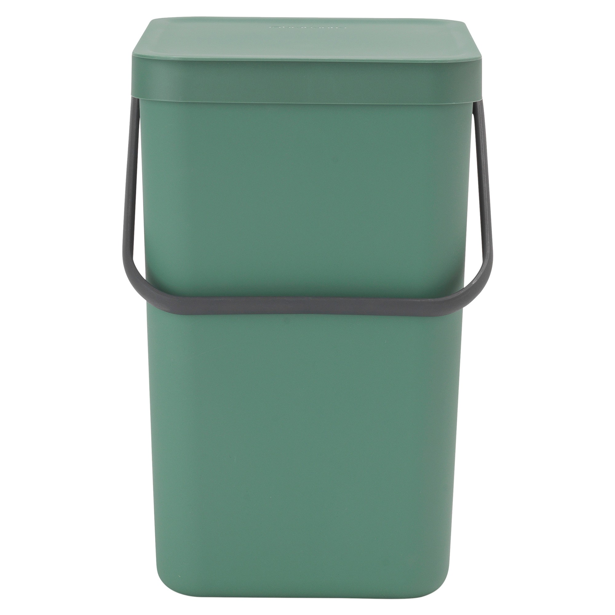 Brabantia Sort & Go Waste Bin, 25 Litre, Fir Green