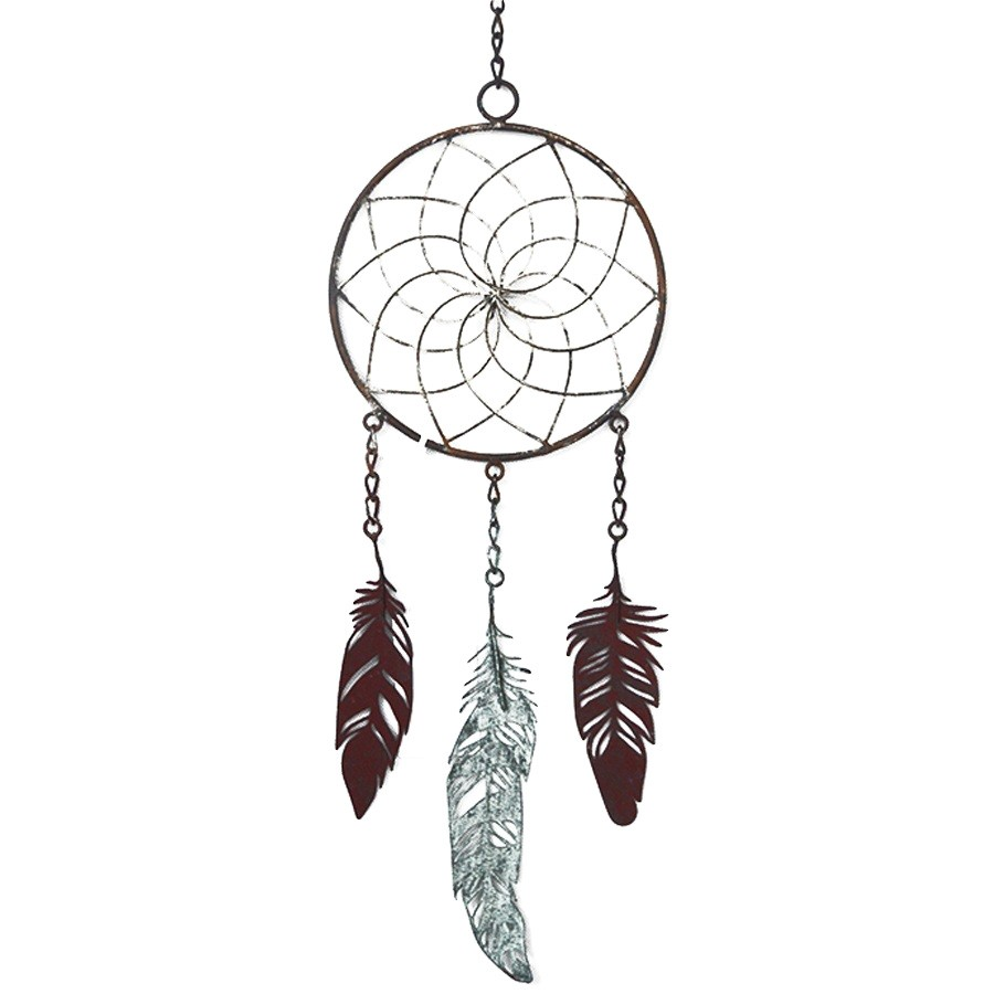 Metal Dreamcatcher Hanging Decor