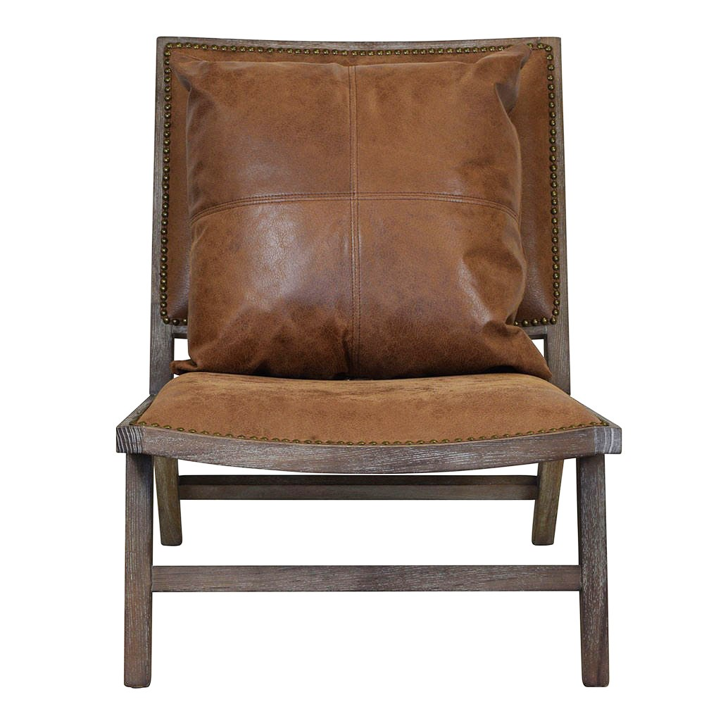 Tristan Leather Lounge Chair
