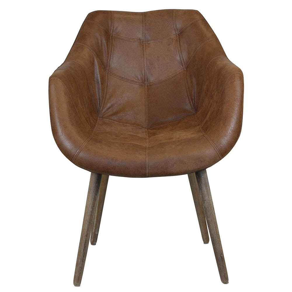Sebastian Leather Dining Armchair