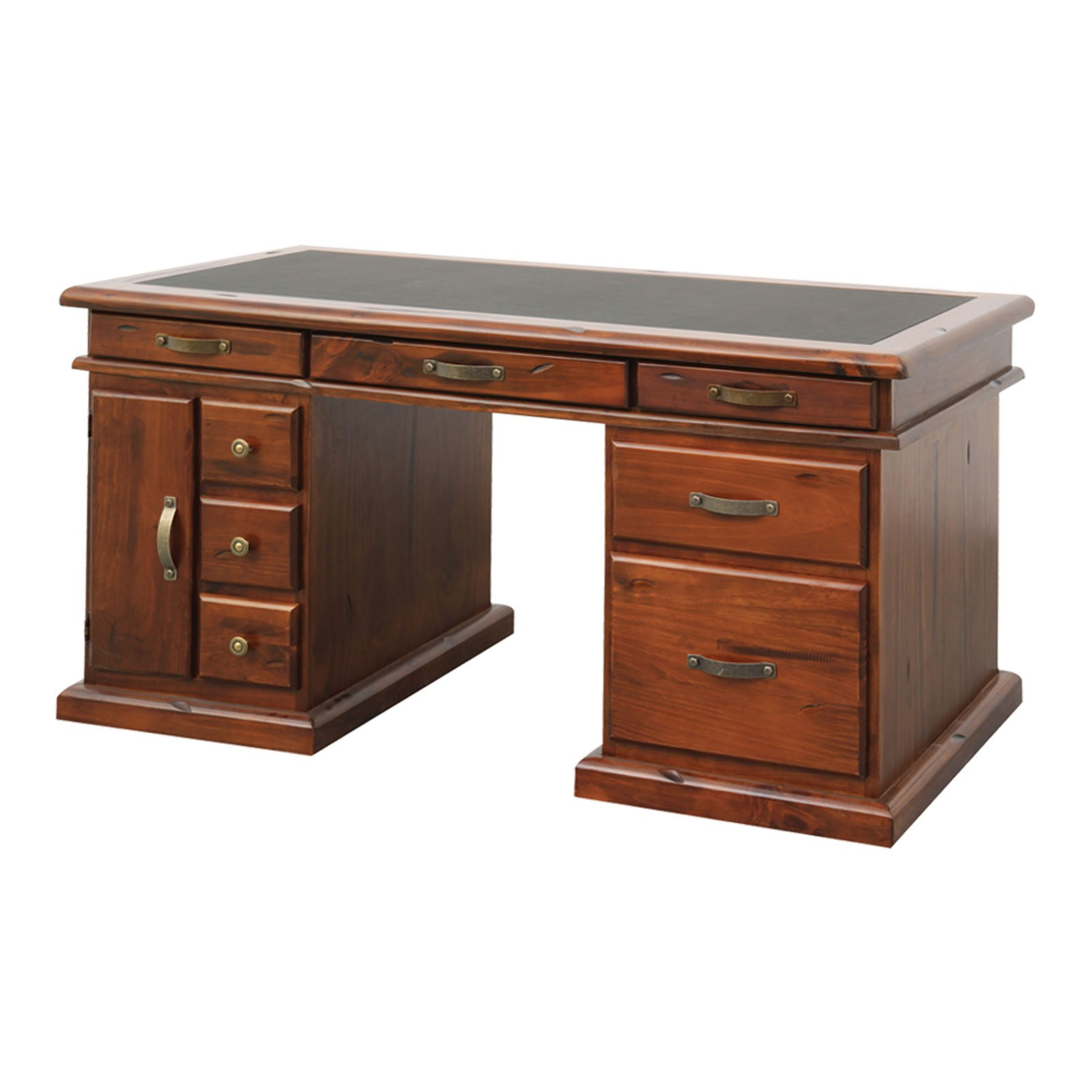 Spring New Zealand Pine Timber Desk