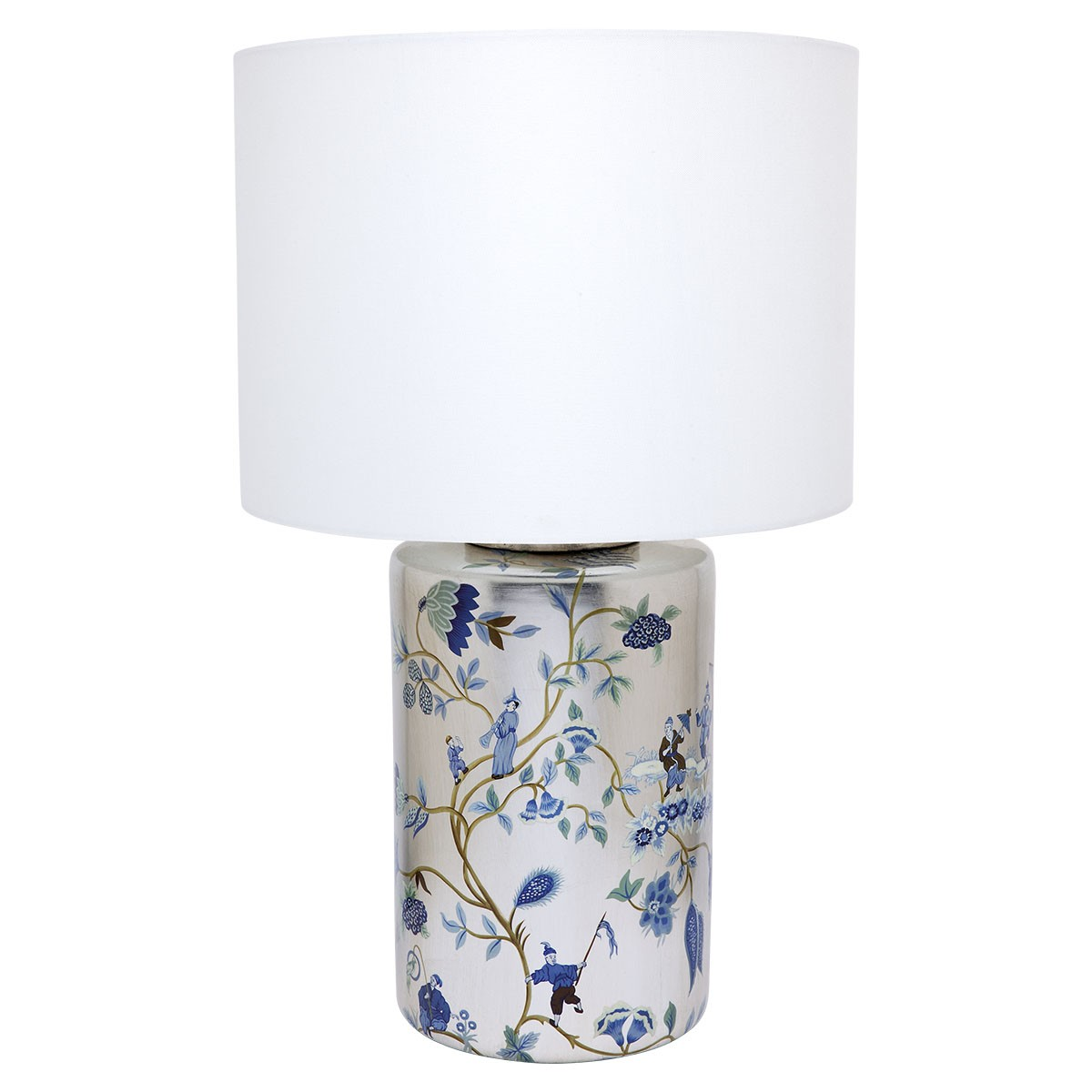 Chinois Ceramic Base Table Lamp