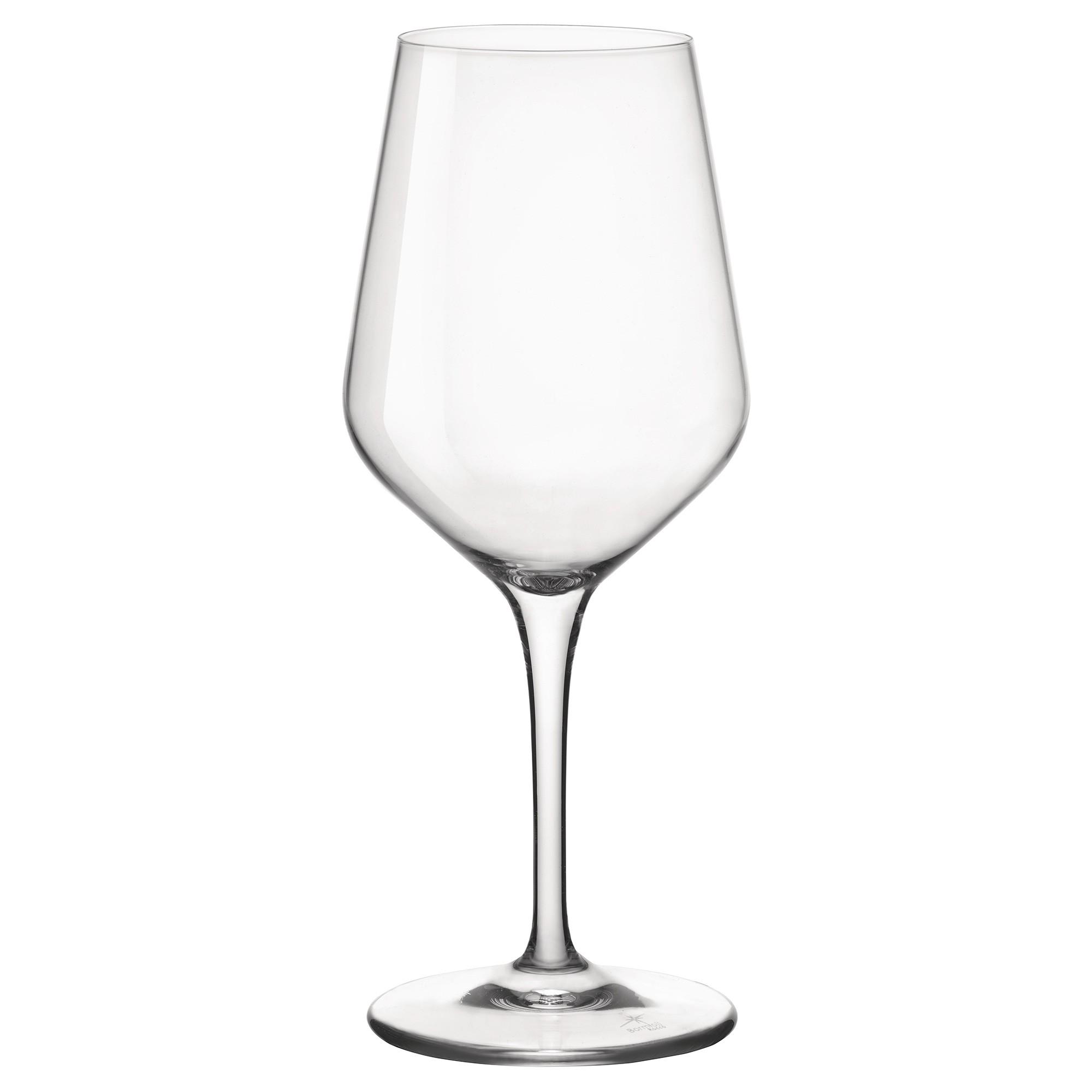 Bormioli Rocco Electra Small Wine Glasses, Set of 6