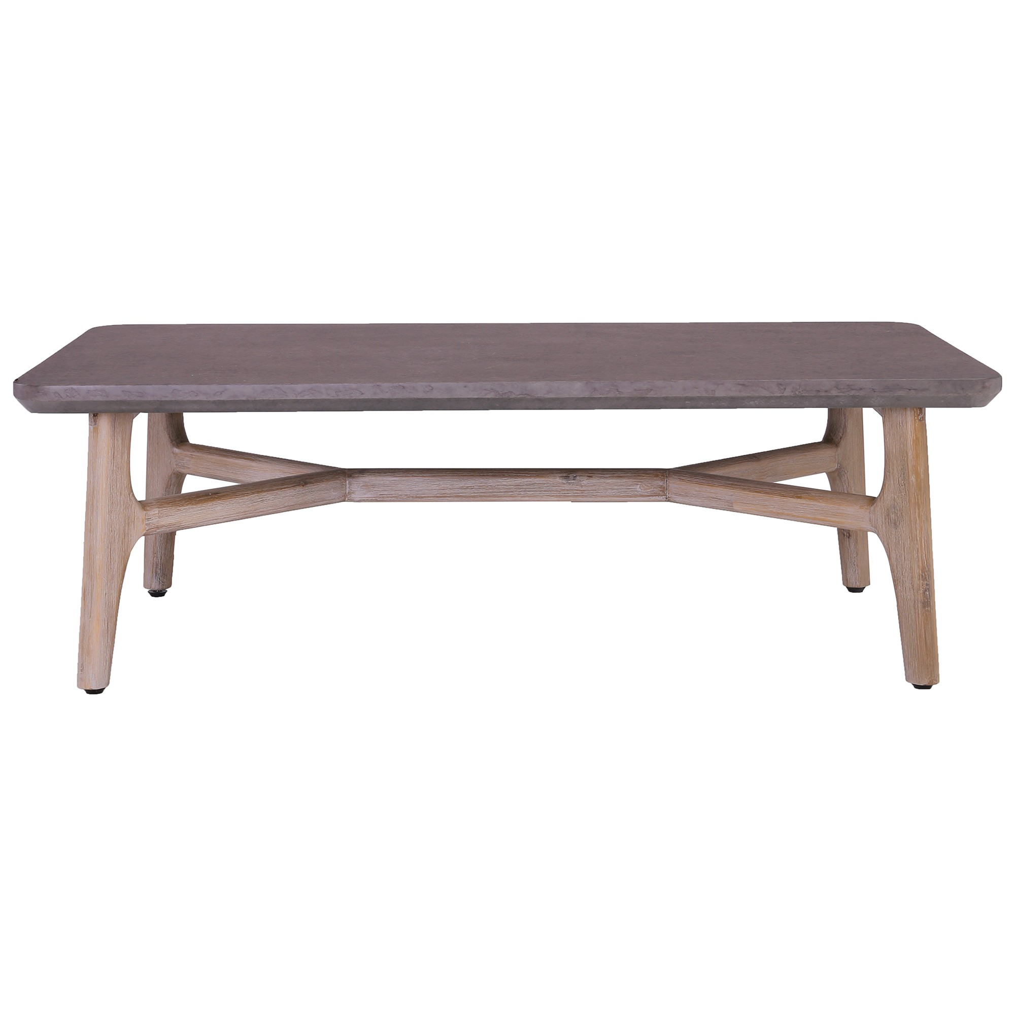 Corbin Acacia Timber Coffee Table, 120cm