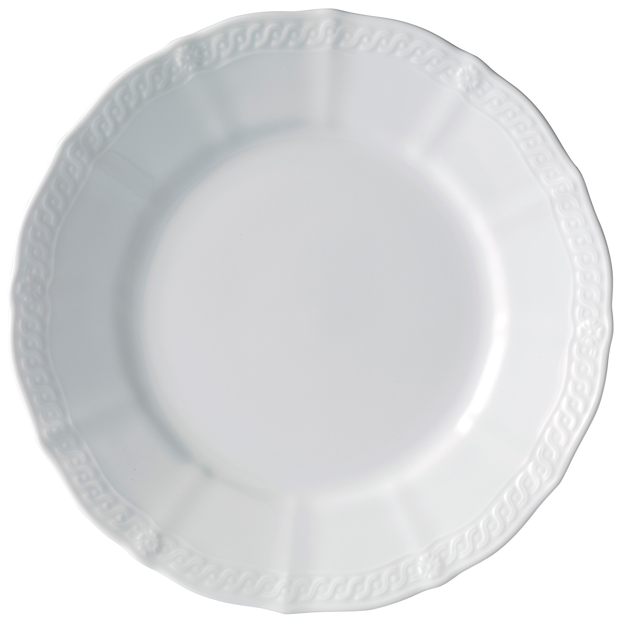 Noritake Cher Blanc Fine China Dinner Plate, Set of 4