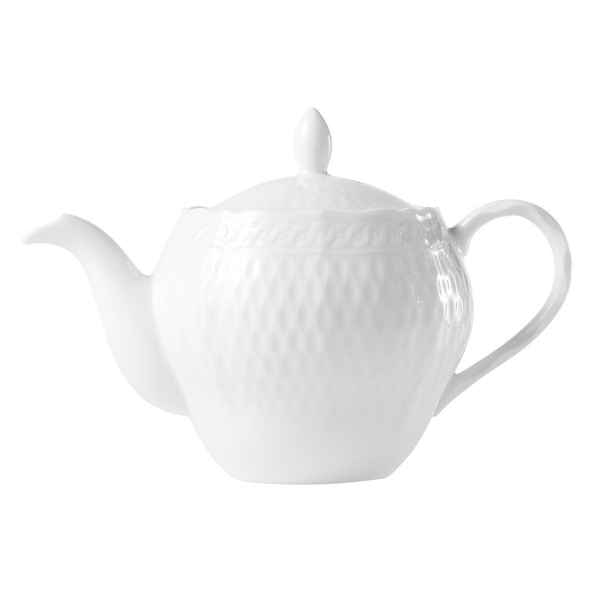 Noritake Cher Blanc Fine China Tea Pot