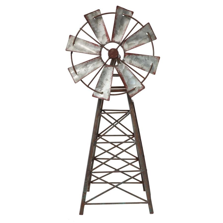 Bram Metal Windmill Ornament
