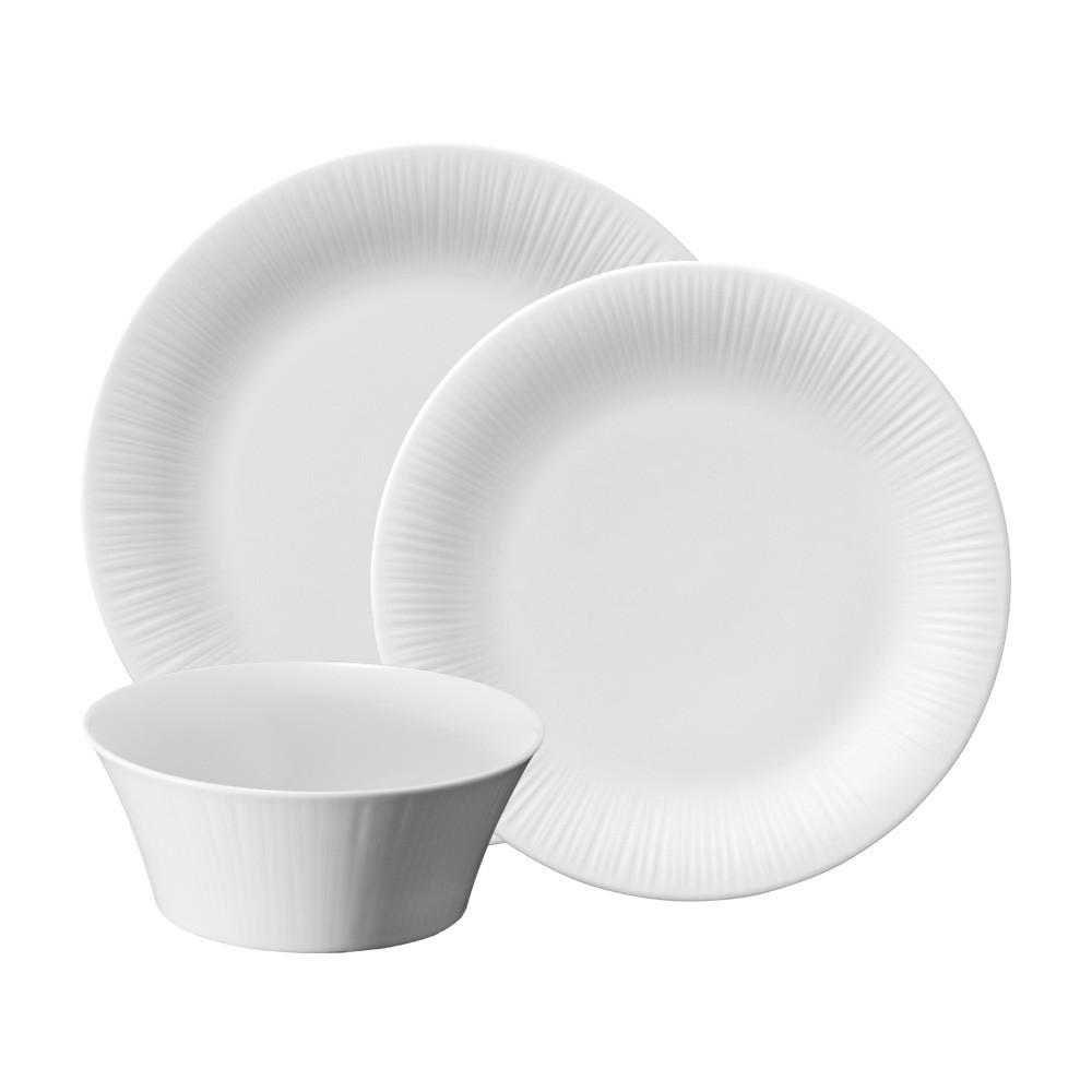 Noritake Conifere 12 Piece Fine Porcelain Dinner Set