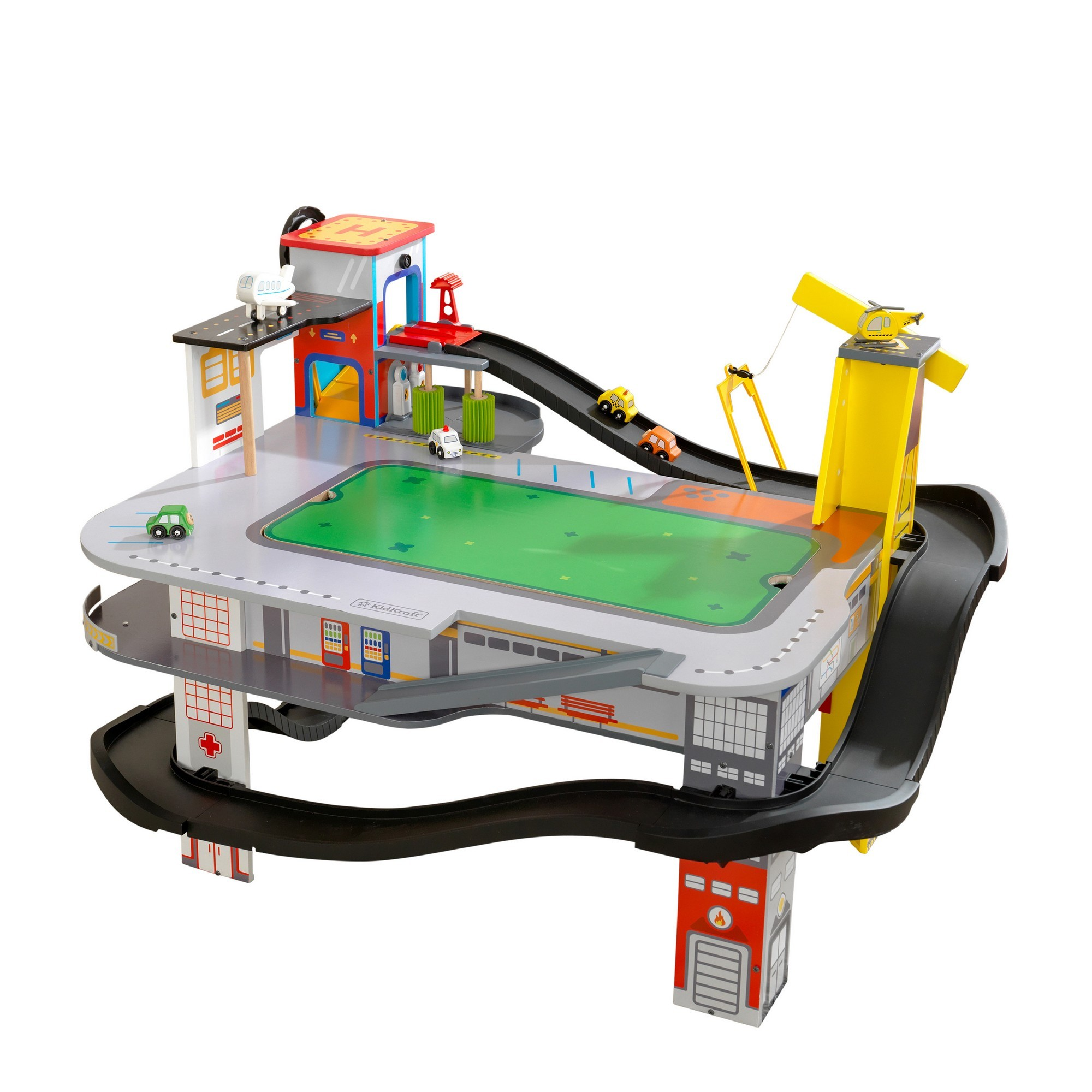 Kidkraft Freeway Frenzy Raceway Set & Table
