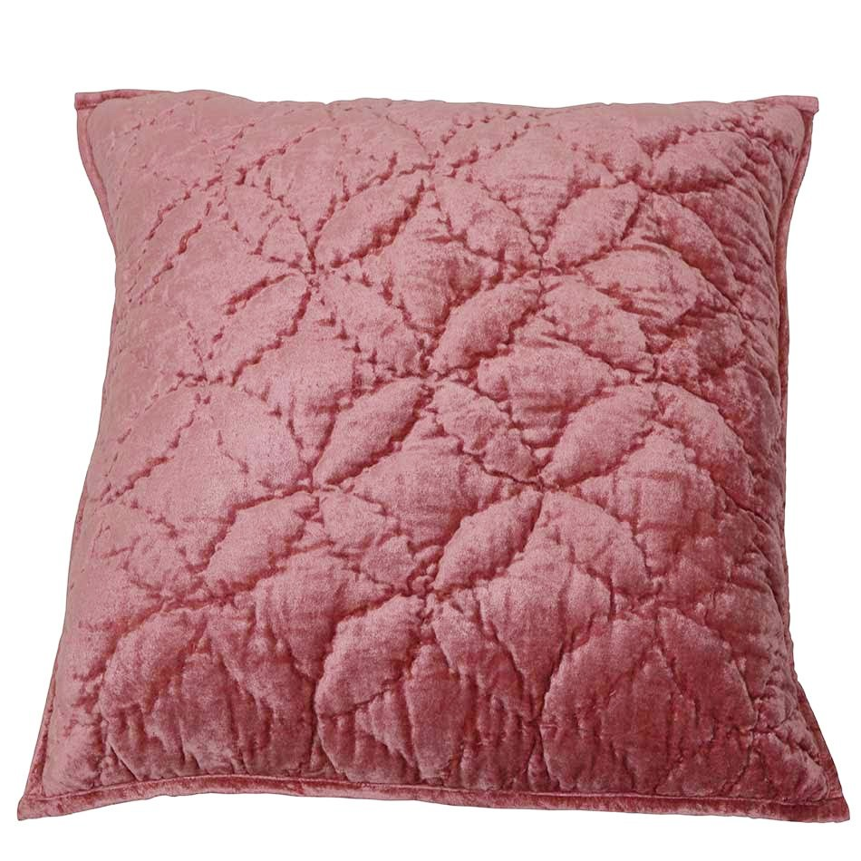 Poppy Fabric Euro Cushion Cover