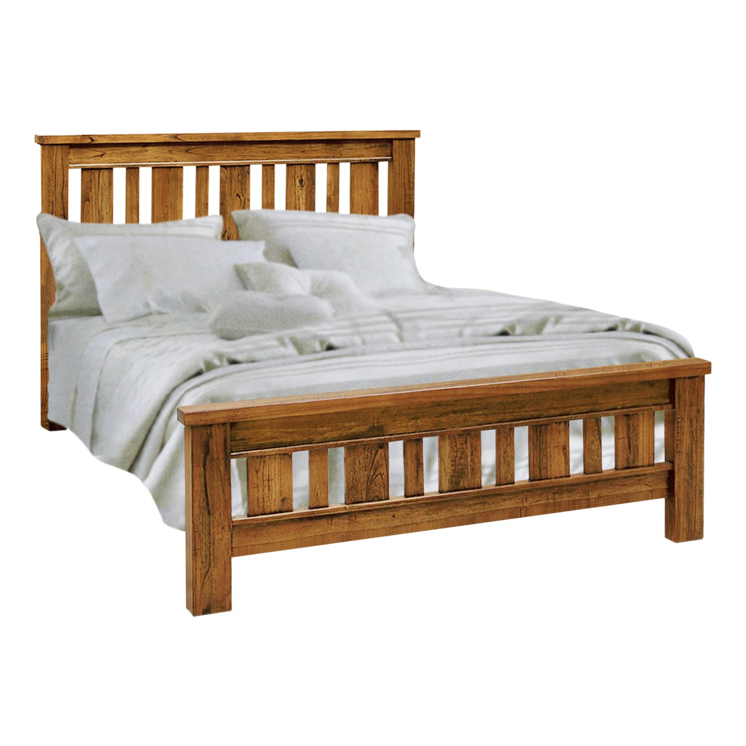 Montana Hardwood Timber Federation Bed, Queen