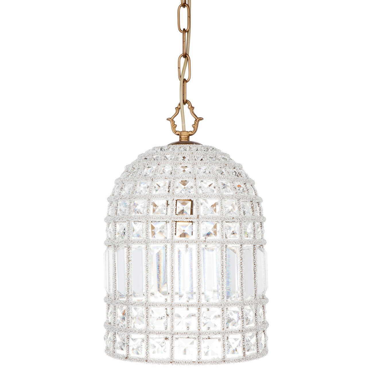 Bella Crystal Pendant Light, Small