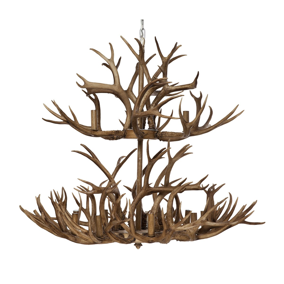 Aspen Antler Chandelier, 12 Arm