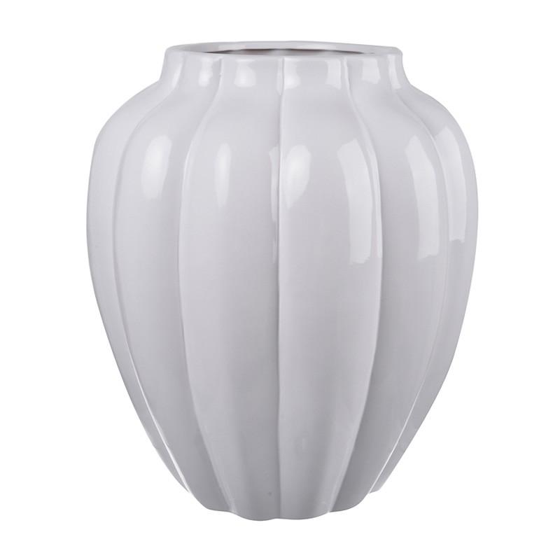 Mimosa Ceramic Squash Vase, Small