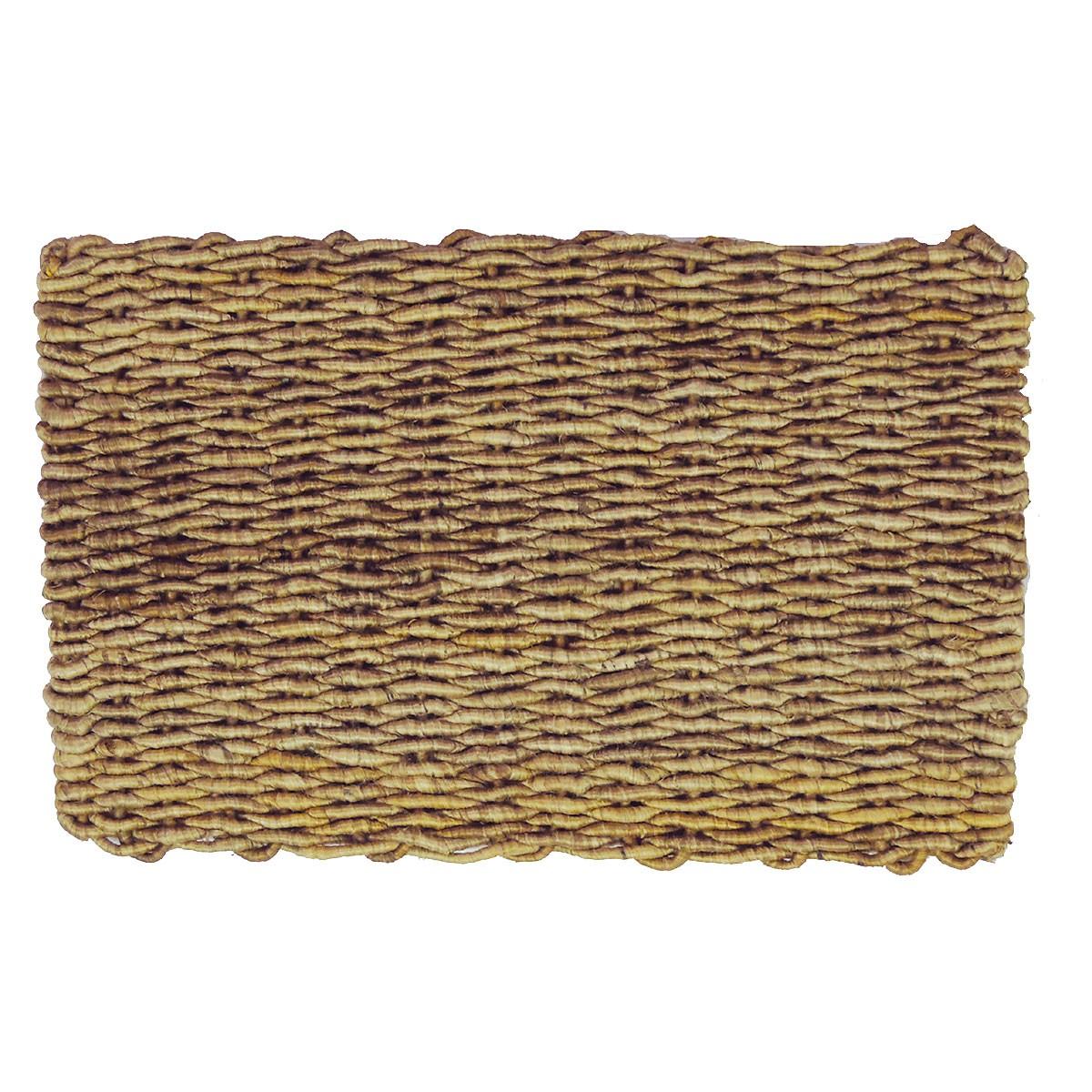 Corridor Coiled Yarn Jute Doormat, 80x50cm