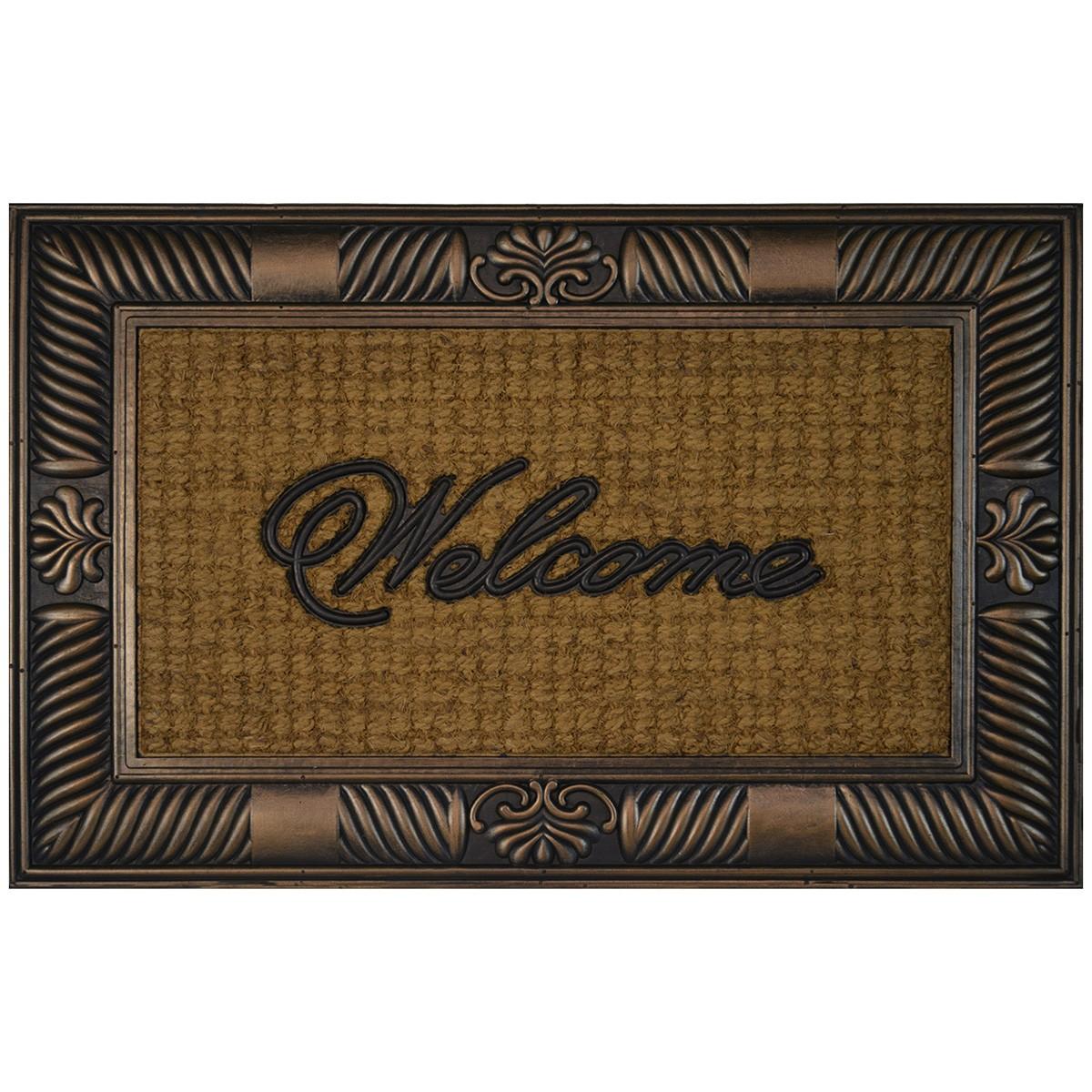 Belton Coir & Rubber Doormat, 90x60cm