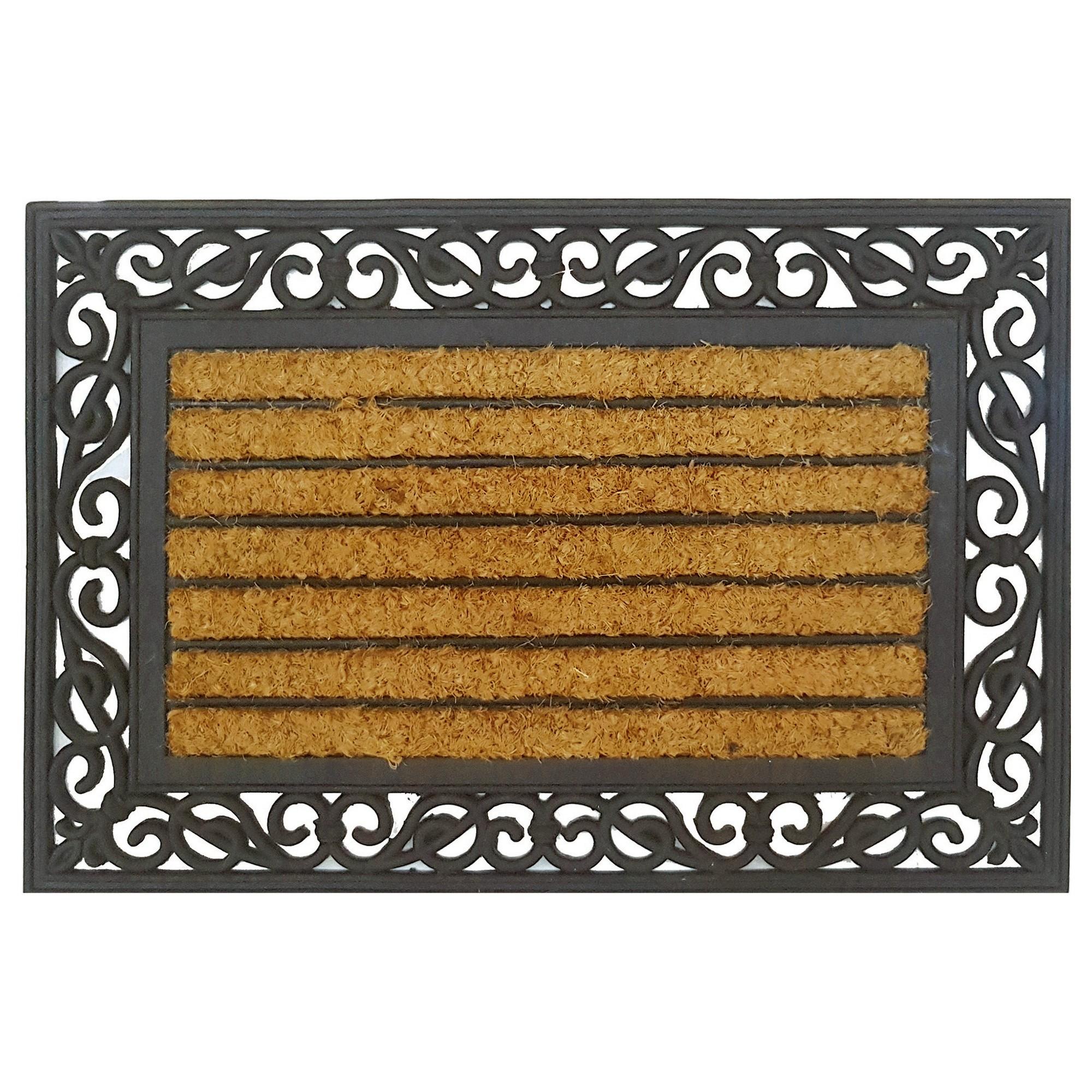 Colin Coir & Rubber Doormat, 60x40cm