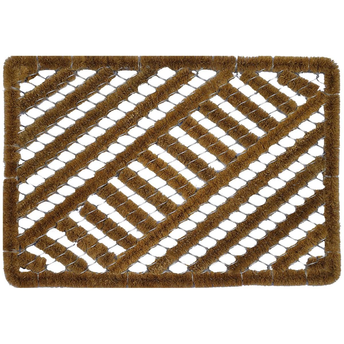 Clive Wired Coir Bootscraper Doormat, 60x40cm