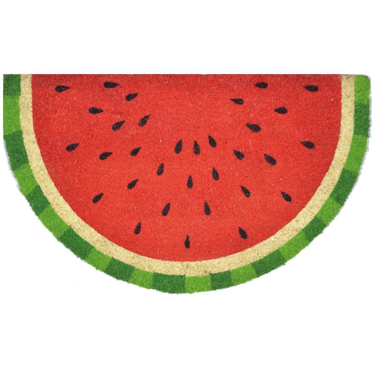Water Melon Coir Doormat, 75x45cm