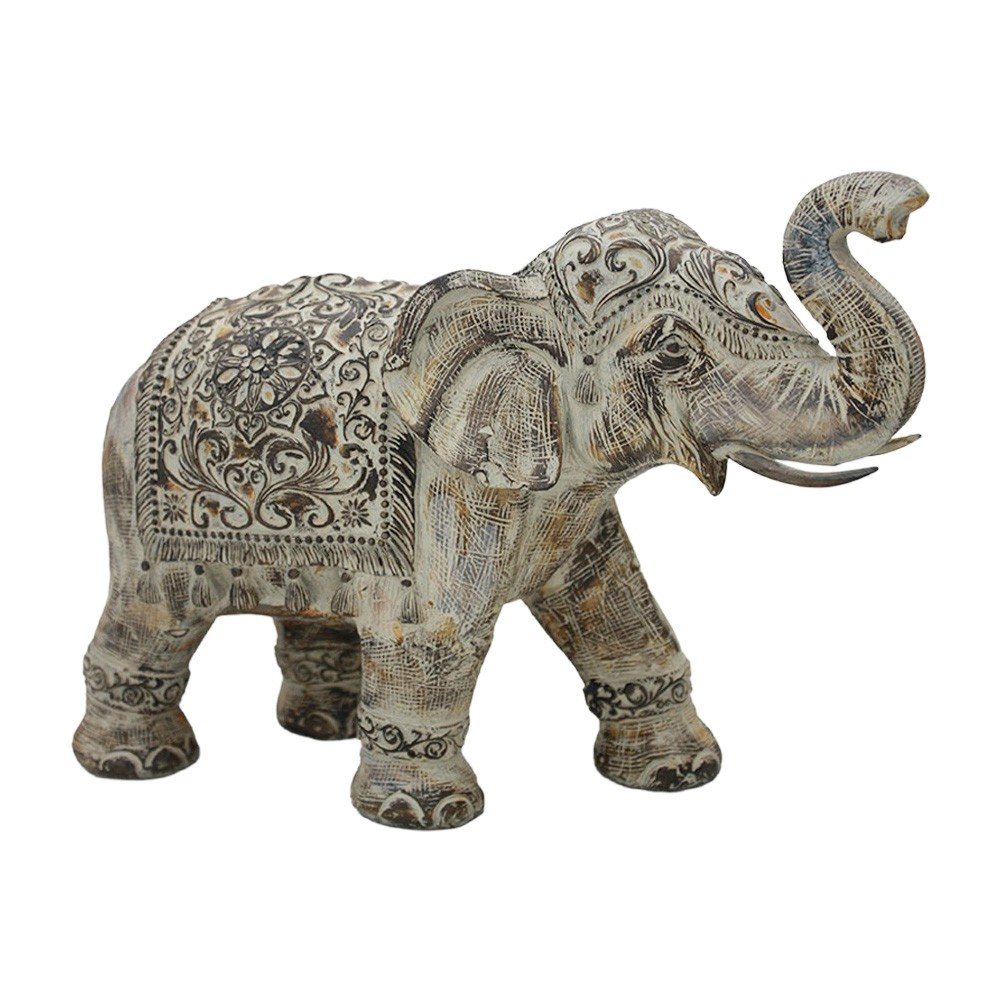 Surin Elephant Figurine Decor, Extra Large